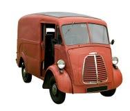 Vecchio furgone di consegna immagini stock libere da diritti