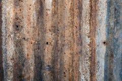 Vecchio galvanizzato Fotografia Stock Libera da Diritti