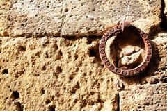 Vecchio gancio della parete immagine stock libera da diritti