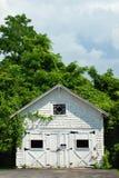 Vecchio garage Fotografie Stock