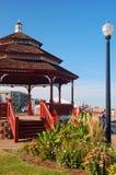 Vecchio gazebo storico a Bradley Beach immagine stock libera da diritti