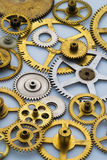 Vecchio gears#1 Fotografia Stock Libera da Diritti