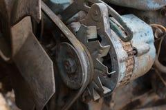 Vecchio generatore Fotografie Stock Libere da Diritti