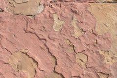 Vecchio gesso scheggiato sul muro di cemento, sui grandi precedenti o sulla struttura per il vostro progetto Fotografia Stock