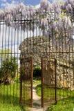 Vecchio giardino Fotografia Stock Libera da Diritti