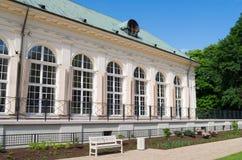 Vecchio giardino di inverno, Varsavia Immagine Stock Libera da Diritti