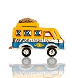 Vecchio giocattolo africano - taxi di Bush  fotografie stock