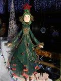 Vecchio giocattolo dell'albero di Natale del diciannovesimo secolo Immagine Stock Libera da Diritti