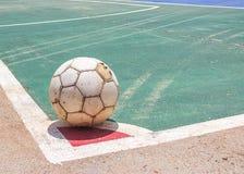 Vecchio gioco del calcio Fotografia Stock Libera da Diritti