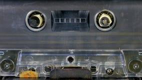 Vecchio gioco della bobina dell'audio cassetta video d archivio