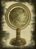 Vecchio globo immagini stock libere da diritti