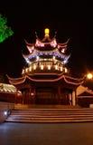 Vecchio gloriette cinese Fotografia Stock