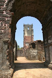 Vecchio Goa Fotografie Stock
