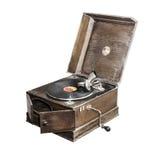 Vecchio grammofono Immagini Stock