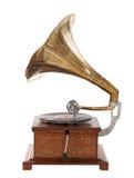 Vecchio grammofono Fotografie Stock Libere da Diritti