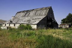 Vecchio granaio abbandonato Fotografia Stock