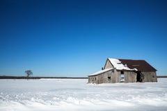 Vecchio granaio, Canada Fotografia Stock