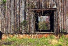 Vecchio granaio del tabacco Fotografia Stock Libera da Diritti