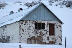 Vecchio granaio dell'Idaho Immagine Stock