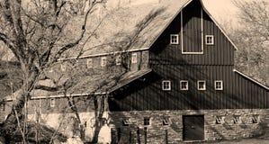 Vecchio granaio dello Iowa Fotografie Stock Libere da Diritti