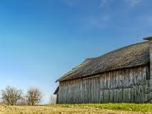 Vecchio granaio di legno Immagine Stock Libera da Diritti