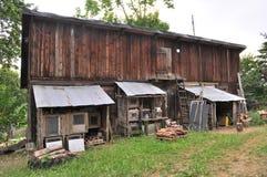 Vecchio granaio di legno Immagine Stock