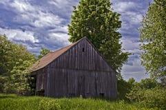 Vecchio granaio di New Hampshire Fotografia Stock Libera da Diritti