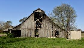 Vecchio granaio di Sikeston Fotografie Stock