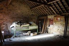 Vecchio granaio irlandese Fotografie Stock