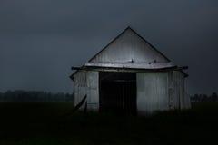 Vecchio granaio a Mirabel, Québec Fotografia Stock Libera da Diritti