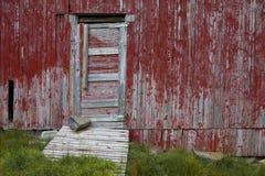 Vecchio granaio norvegese Fotografie Stock Libere da Diritti