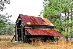 Vecchio granaio rustico Fotografie Stock