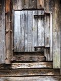 Vecchio granaio rustico Fotografia Stock