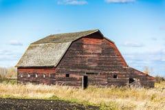 Vecchio granaio stagionato Fotografia Stock