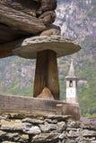Vecchio granaio tradizionale Immagine Stock