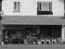 Vecchio grande magazzino Fotografie Stock