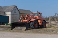 Vecchio grande trattore Immagine Stock Libera da Diritti