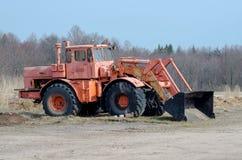 Vecchio grande trattore Fotografie Stock