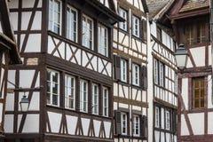 Vecchio a graticcio alloggiato di Strasburgo Immagine Stock Libera da Diritti