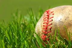 Vecchio guanto di baseball Fotografie Stock