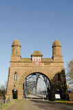 Vecchio harburg del ponte Fotografie Stock