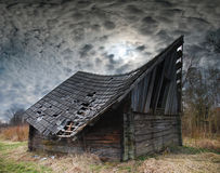 Vecchio hayloft Fotografia Stock