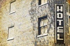 Vecchio hotel Fotografia Stock Libera da Diritti
