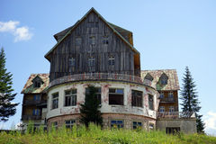 Vecchio hotel Immagini Stock Libere da Diritti