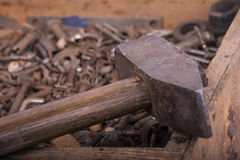 Vecchio hummer Fotografie Stock Libere da Diritti