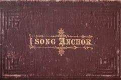 Vecchio Hymnal Immagini Stock