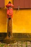 Vecchio idrante Fotografie Stock Libere da Diritti