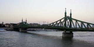 Vecchio incrocio del ponte Immagine Stock Libera da Diritti