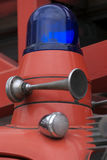 Vecchio indicatore luminoso del fuoco Fotografia Stock