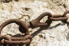 Vecchio ingranaggio arrugginito Fotografie Stock Libere da Diritti